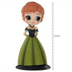 Figura Anna Coronation Style - Disney - Q Posket - Bandai Banpresto