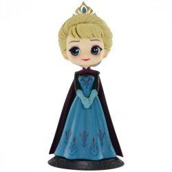 Figura Elsa Coronation Style - Disney - Q Posket - Bandai Banpresto