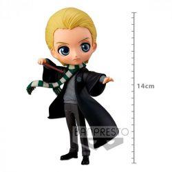 Figura Draco Malfoy - Harry Potter - Q Posket - Bandai Banpresto
