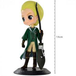 Figura Draco Malfoy Quidditch Style - Harry Potter - Q Posket - Bandai Banpresto