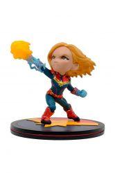 Estátua Captain Marvel - Marvel - Q-Fig - Quantum Mechanix
