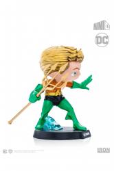 Estátua Aquaman - DC Comics - MiniCo - Iron Studios